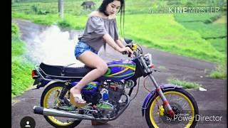 GL 100 modif cewek cantik | Moto CB