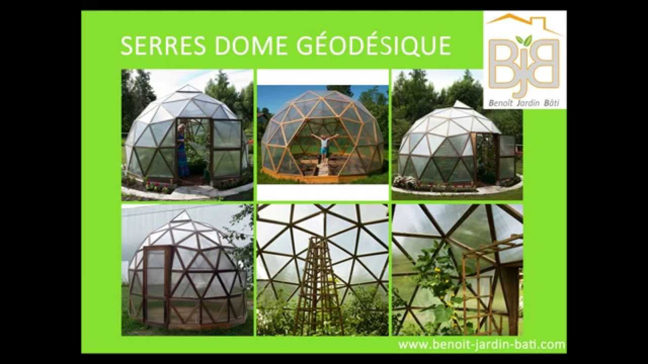 Super serre dome geodesique - YouTube HR03