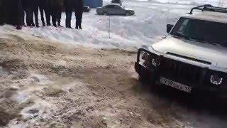 Гонки. Соревновании  внедорожников в Петропавловске(Вас приветствует интерактивный интернет - проект