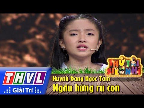 THVL | Thử tài siêu nhí - Tập 8: Ca cảnh: Ngẫu hứng ru con - Huỳnh Đặng Ngọc Tâm