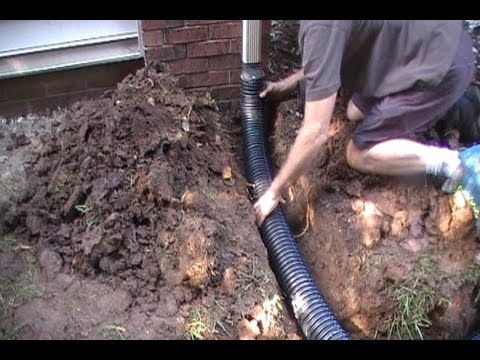 Tips Downspout Drain Professional Install Youtube