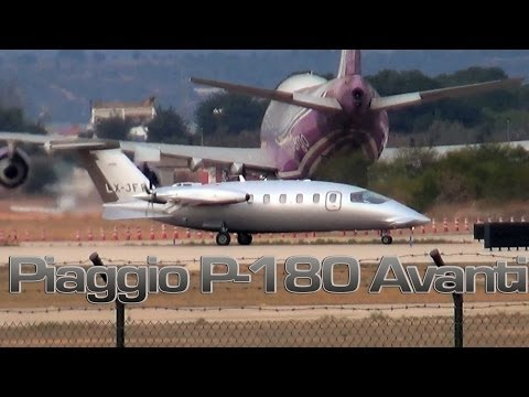 Piaggio P-180 Avanti (Jetfly Aviation) HD