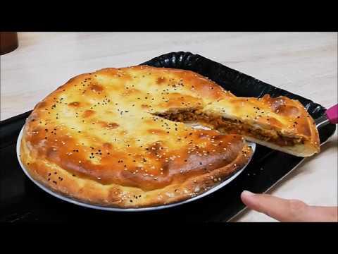 pain-de-semoule-moelleux-et-farci-au-bŒuf-hachÉ-facile-(cuisine-rapide)