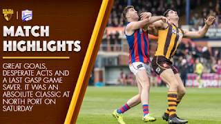 2018 VFL Elimination Final: Box Hill vs Port Melbourne