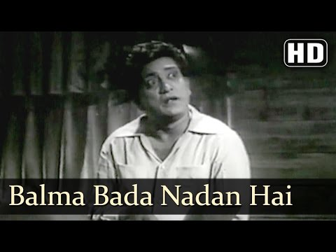 Balma Bada Nadan Hai   Albela Songs   Bhagwan Dada   Geeta Bali   Lata Mangeshkar   Filmigaane