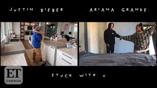 Justin Bieber, Ariana Grande Debut 'Stuck With U' Video Featuring Celeb Cameos