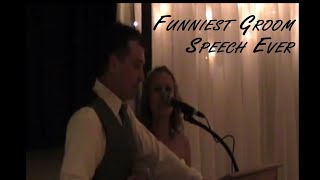 Funniest Groom Speech Ever Youtube