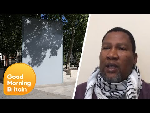 Nelson Mandela's Grandson Calls for His Grandfathers Statue to Be Unboxed | Good Morning Britain