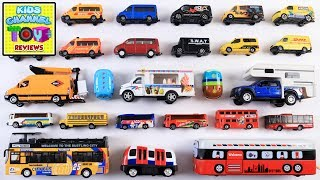 Learn Vans And Buses For Kids | Street Vehicles For Children | Kids Learning Video | Preschool Video
