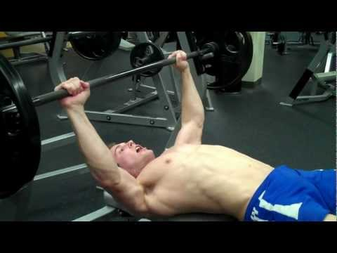 How To: Barbell Bench Press<a href='/yt-w/rT7DgCr-3pg/how-to-barbell-bench-press.html' target='_blank' title='Play' onclick='reloadPage();'>   <span class='button' style='color: #fff'> Watch Video</a></span>