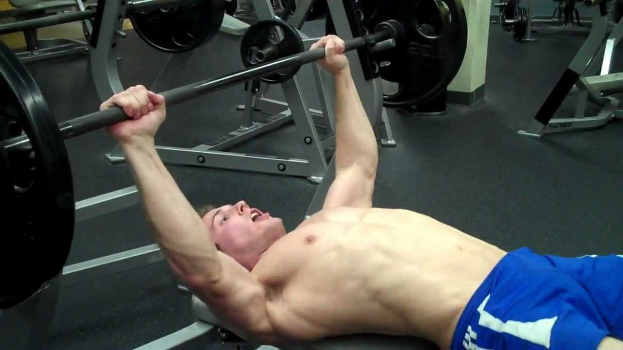 bench press flat chest
