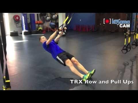 TRX Rows & Pull Ups