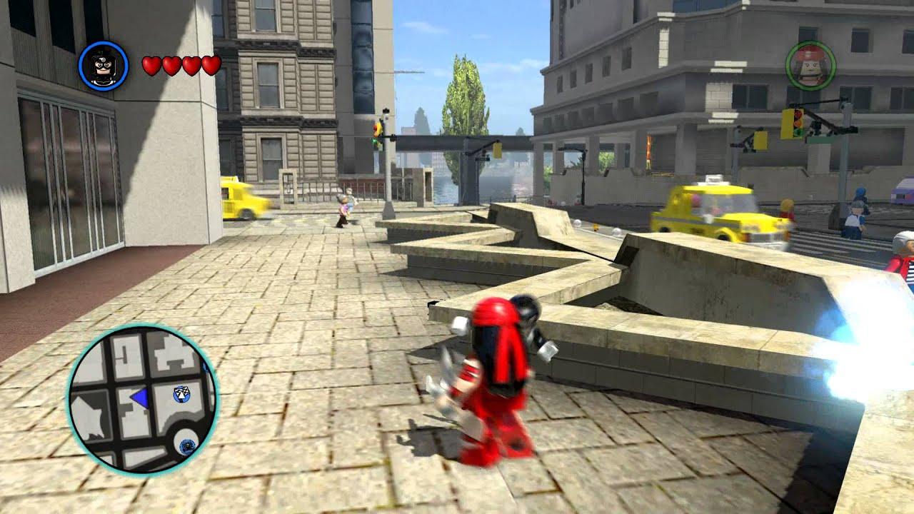 LEGO MARVEL Super Heroes - Bullseye Kills Elektra (1080p ...