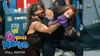 FULL MATCH - The Undertaker vs. Mankind - Buried Alive Match: WWE In Your House: Buried Alive