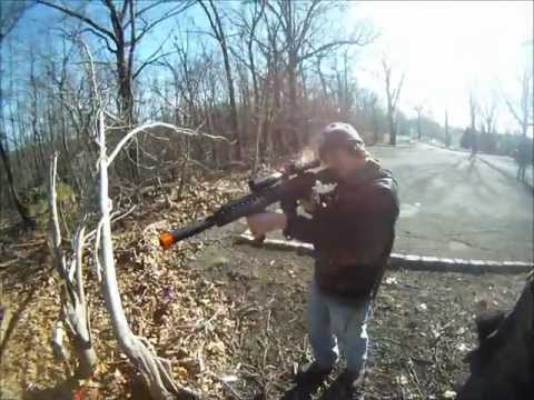 GoPro First Person Airsoft Skirmish Friday 2/17/12