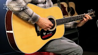 Martin D-35 Woodstock 50th Anniversary Dreadnought Acoustic Guitar