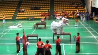 大榮中學-醒獅校隊-103年3月25日全國中華盃舞龍舞獅錦標賽-比賽影片