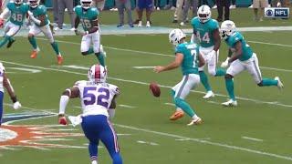 Self Onside Kick Dolphins Kicker Jason Sanders