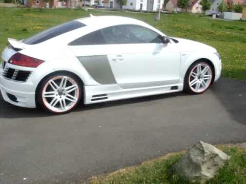 Audi tt tuning youtube for Audi tt 8n interieur tuning