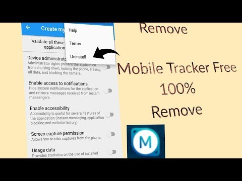Remove Mobile Tracker Free 100% In Your Smartphone By #Ayush_Technical_AT