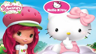 Strawberry Shortcake Washing Clothes & Hello Kitty Laundry Day Compilation Game