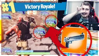 MY FIRST WIN IN FORTNITE SEASON 3! (NEW DEAGLE) * NEW SKINS *