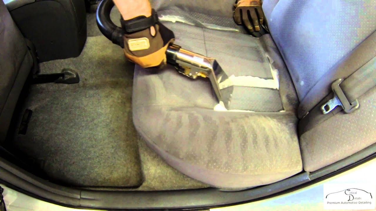How To Clean Upholstery Hot Water Extraction  Critical