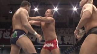 2010.01.30 NAGATA & NAITO & YUJIRO vs TAJIRI & KARL ANDERSON & GIANT BARNARD