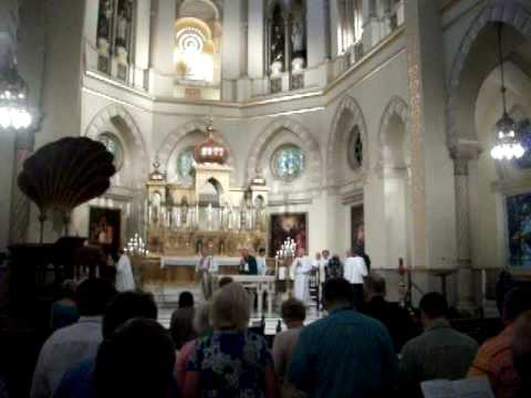Mass At Immaculate Conception Church In New Orleans Gospel Music