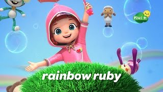 NOUVEAU ! RAINBOW RUBY arrive sur Piwi+ (Dessin animé)