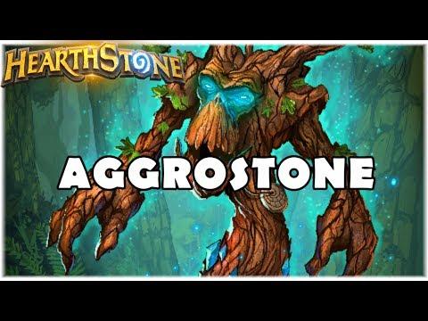HEARTHSTONE - AGGROSTONE! (STANDARD AGGRO DRUID)
