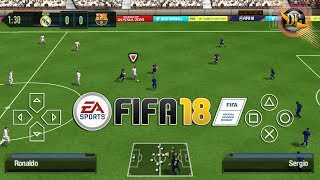 FIFA 18 PPSSPP OFFLINE ANDROID