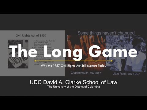 The Long Game: Why 1957 Civil Rights Act Still Matters