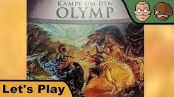 Kampf um den Olymp - Brettspiel - Let's Play