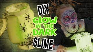 DIY Glow In The Dark Slime | FunPop!