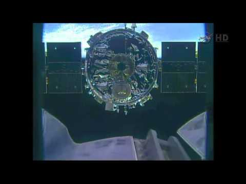 [ORB-2] Orbital Sciences Cygnus 2 Is Released From ISS