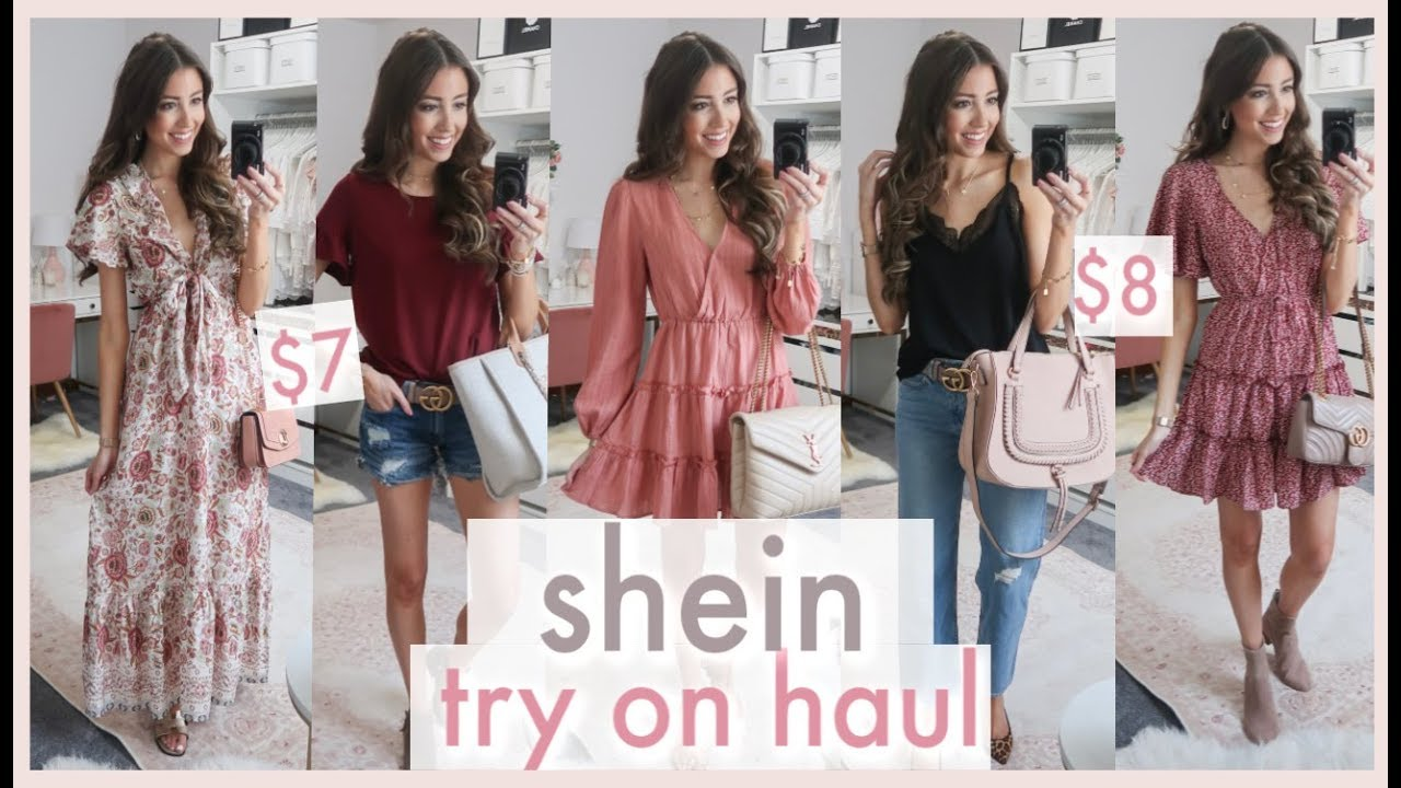 huge shein try on haul 2019 | TRANSITIONAL FALL OUTFIT IDEAS | affordable clothing haul 2