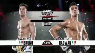 GLORY 25 Superfight Series - Stefano Bruno vs Hosam Radwan thumbnail
