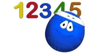Los Números del 1 al 5 - canción educativa para niños - La Pelota Loca