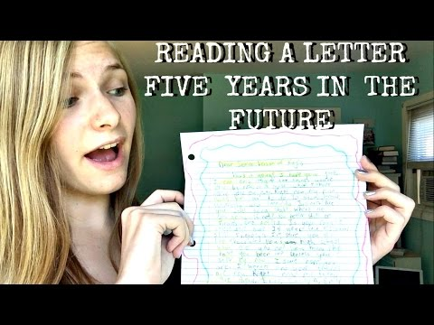 RESPONDING TO A LETTER FROM MY 12 YEAR OLD SELF