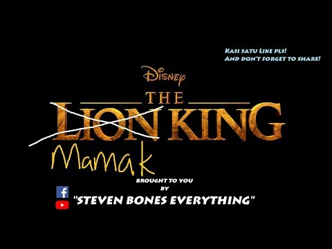 The Mamak King (Lion King Parody)