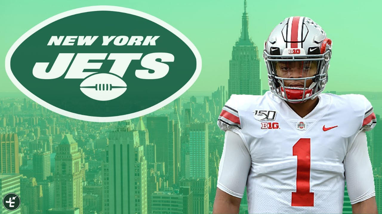 Could Justin Fields Be The Future Of The New York Jets? - YouTube
