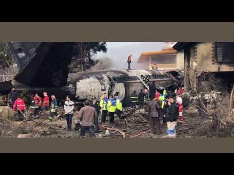 Иран не намерен отдавать черные ящики со сбитого самолета МАУ боинг 737