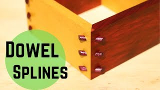 Dowel Rod Splines // When Odd Sizes and Shapes Make Regular Splines Difficult or Impossible!