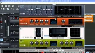 COLOCAR EFECTOS EN SAMPLITUDE MUSIC STUDIO 16