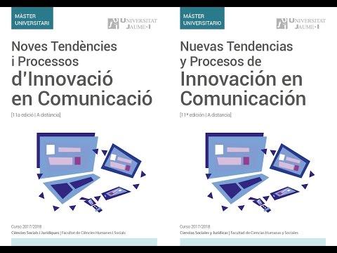 Nuevas Tendencias y Procesos de Innovación en Comunicación