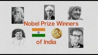 Nobel Prize winner of  India