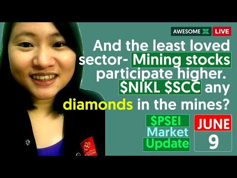 And The Least Loved Sector- Mining Stocks Participate Higher.  $NIKL $SCC Any Diamonds In The Mines?