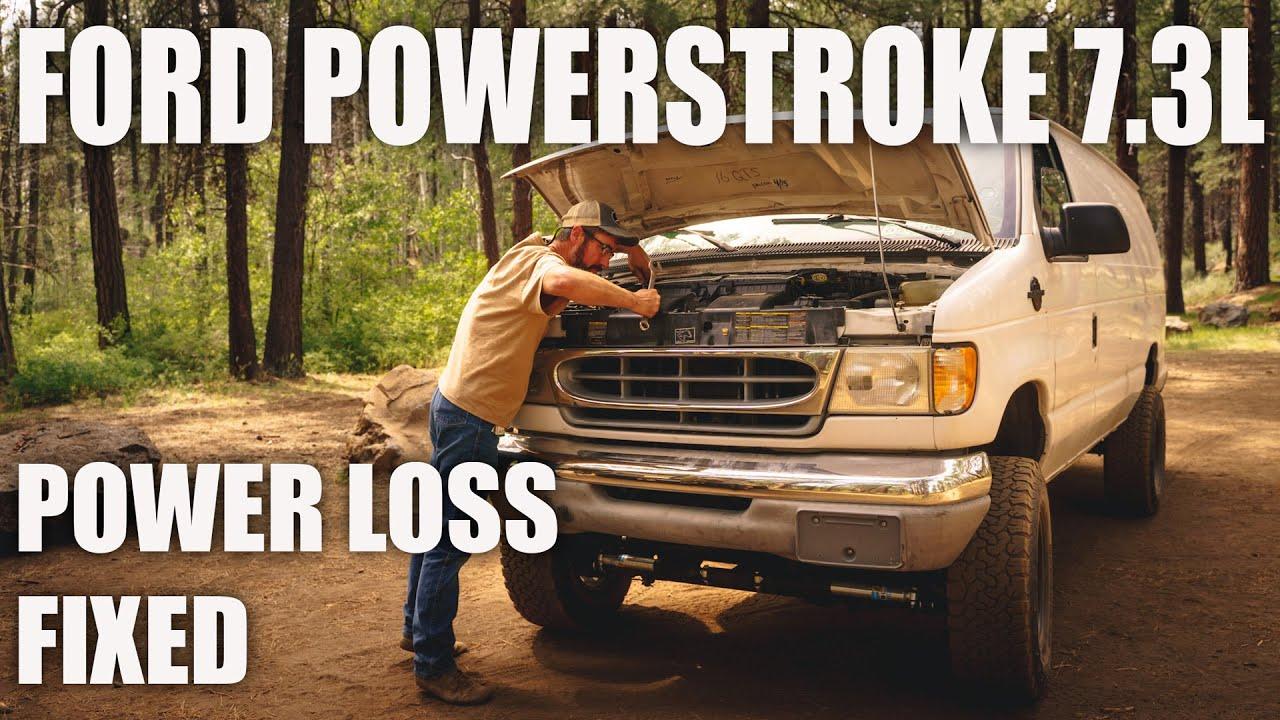 Ford Powerstroke 7.3L Diesel - Power Loss - Fixed
