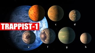 NASA DESCUBRE 7 planetas SIMILARES a la tierra en TRAPPIST-1 | VM Granmisterio